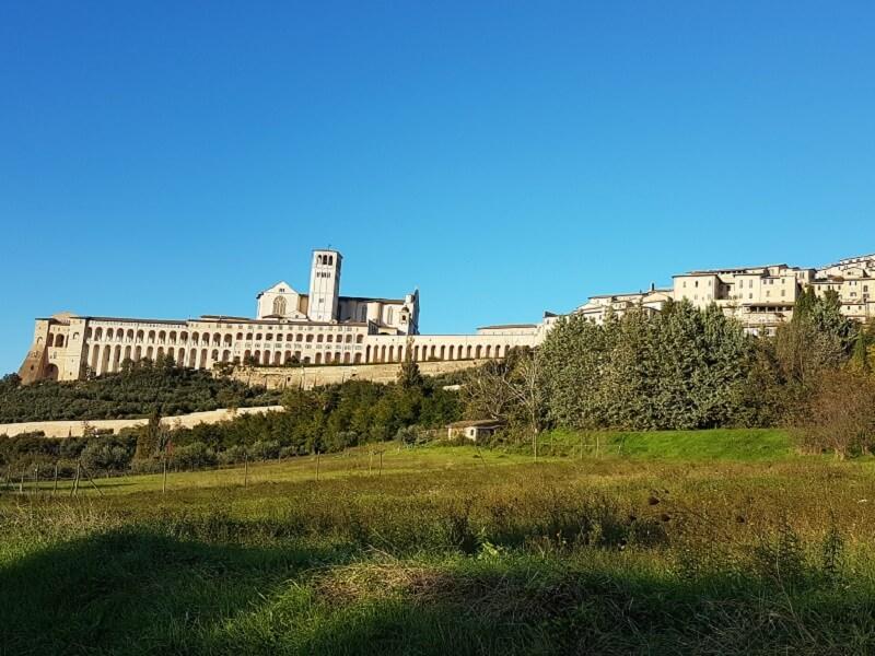 Cabrio Vakantie Italie, Assisi & Gubbio