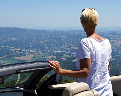 Cabrio Vakantie Italie, Monte Nerone I