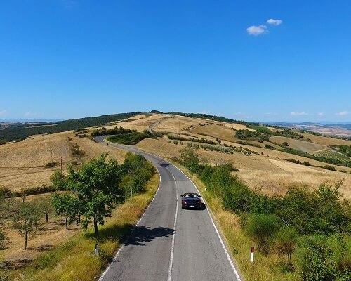 Cabrio Vakantie Italie, Toscane II