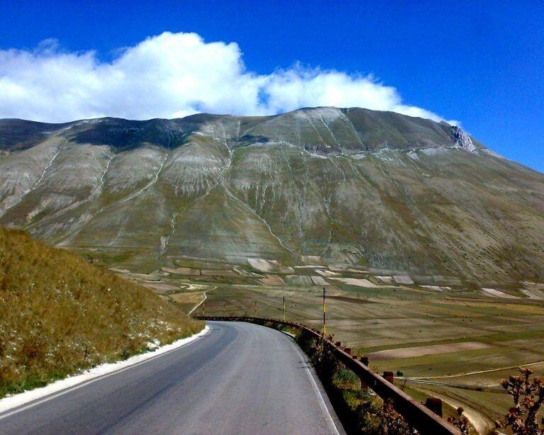 Cabrio Vakantie Italie, Monte Sibillini