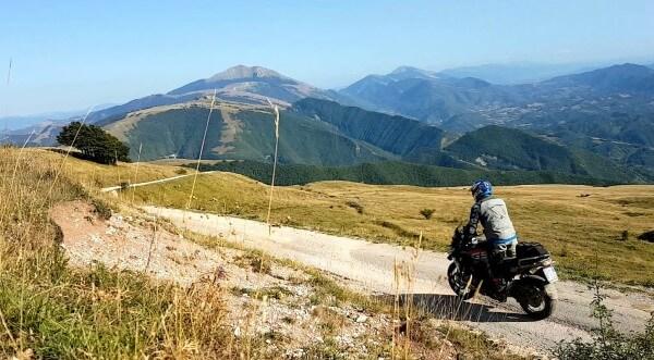All Road Italie Monte Nerone