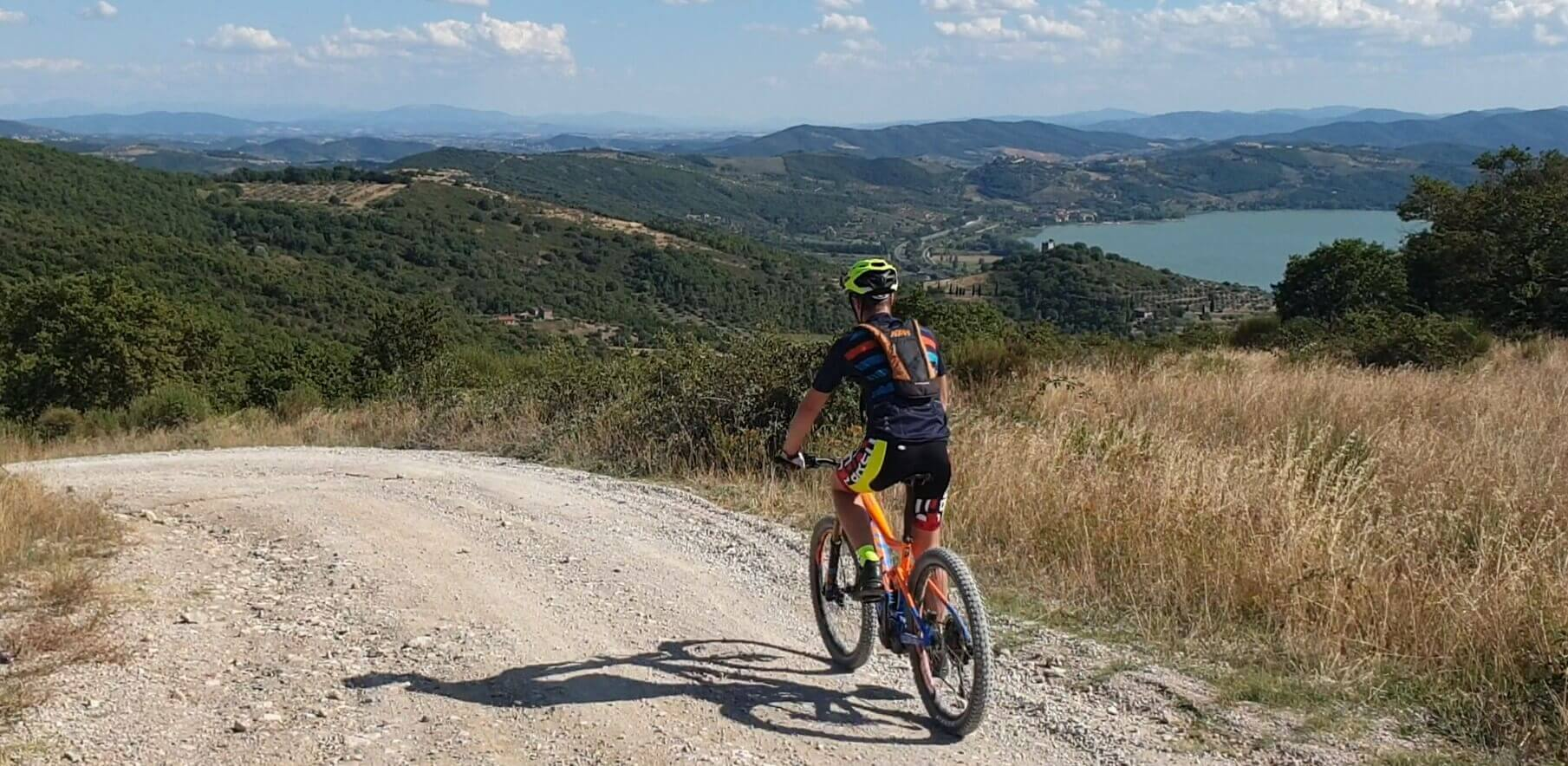 Mountainbike Vakantie Trasimenomeer
