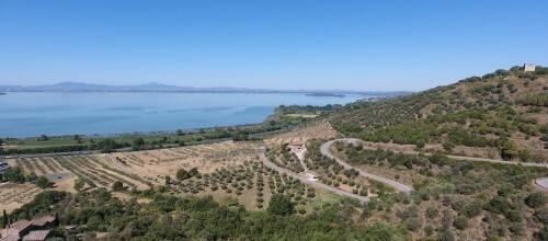 Fietsvakantie in Italie, omgeving Trasimenomeer