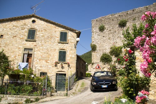 Cabrio Vakantie Italie