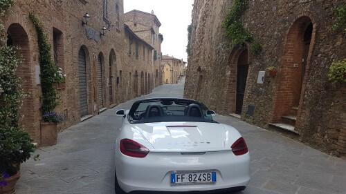 Cabrio Vakantie Italie, routes door Umbrie