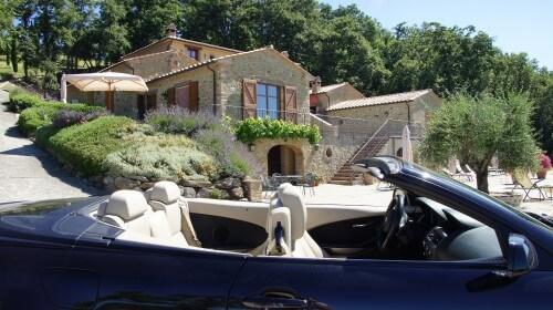 Cabrio Vakantie Italie, Villa Palladio